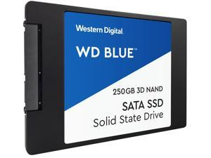 "WD Blue 3D NAND 250GB Internal SSD - SATA III 6Gb/s 2.5""/7mm Solid State Drive - WDS250G2B0A"