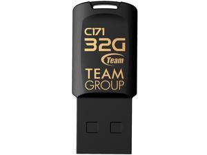 TEAM C171 USB 2.0 DRIVE 32GB BLACK Retail Model TC17132GB01