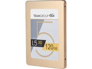 "Team Group L5 LITE 3D 2.5"" 120GB SATA III 3D NAND Internal Solid State Drive (SSD) T253TD120G3C101"