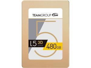 "Team Group L5 3D 2.5"" 480GB SATA III 3D NAND Internal Solid State Drive (SSD) T253TD480G3C101"