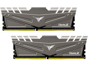 Team T-FORCE DARK Z 32GB (2 x 16GB) 288-Pin DDR4 SDRAM DDR4 2666 (PC4 21300) Desktop Memory Model TDZGD432G2666HC15BDC01