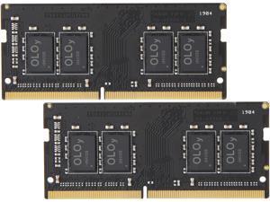 OLOy 16GB (2 x 8GB) 260-Pin DDR4 SO-DIMM DDR4 2400 (PC4 19200) Laptop Memory Model MD4S082417BZDC