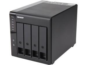 QNAP TR-004-US 4-Bay USB 3.0 Type-C (5Gbps) Hardware RAID Expansion Enclosure / DAS
