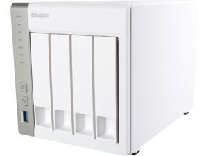 Qnap TS-431P-US 4-Bay Personal Cloud NAS, ARM Cortex A15 1.7 GHz Dual Core, 1GB RAM