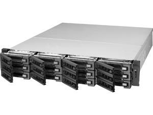 QNAP TS-EC1280U-E3-4GE-R2 Diskless System 12-bay High Performance Unified Storage with Built-in 10GbE