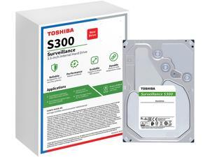 "TOSHIBA S300 HDWT360UZSVAR 6TB 7200 RPM 256MB Cache SATA 6.0Gb/s 3.5"" Internal Hard Drive - WHITE BOX"