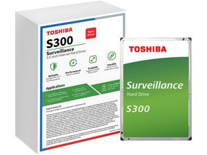 "TOSHIBA S300 HDWT140UZSVAR 4TB 5400 RPM 128MB Cache SATA 6.0Gb/s 3.5"" Internal Hard Drive - WHITE BOX Retail"