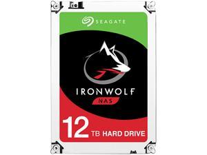 "Seagate IronWolf 12TB NAS Hard Drive 7200 RPM 256MB Cache SATA 6.0Gb/s 3.5"" Internal Hard Drive ST12000VN0007"