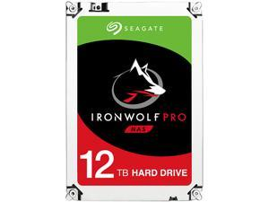 "Seagate IronWolf Pro 12TB NAS Hard Drive 7200 RPM 256MB Cache SATA 6.0Gb/s 3.5"" Internal Hard Drive ST12000NE0007"