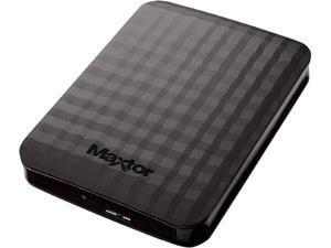 Seagate Maxtor 4TB M3 Portable External Hard Drive USB 3.0 STSHX-M401TCBM Black