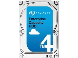 "Seagate Enterprise Capacity 3.5"" HDD 4TB 7200 RPM 512n SAS 12Gb/s 128MB Cache Secure Model Internal Hard Drive ST4000NM0065"