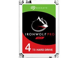 "Seagate IronWolf Pro 4TB NAS Hard Drive 7200 RPM 128MB Cache SATA 6.0Gb/s 3.5"" Internal Hard Drive ST4000NE0025"