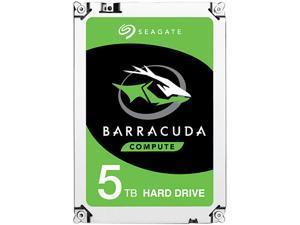 "Seagate 5TB BarraCuda 5400 RPM 128MB Cache SATA 6.0Gb/s 2.5"" 15mm Laptop Internal Hard Drive ST5000LM000"