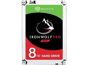 "Seagate IronWolf Pro 8TB NAS Hard Drive 7200 RPM 256MB Cache SATA 6.0Gb/s 3.5"" Internal Hard Drive ST8000NE0004"