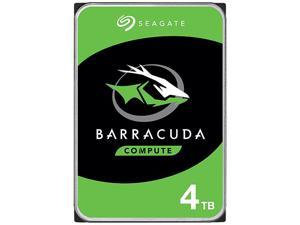 "Seagate BarraCuda ST4000DM004 4TB 5400 RPM 256MB Cache SATA 6.0Gb/s 3.5"" Hard Drives Bare Drive - OEM"
