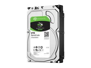 "Seagate BarraCuda ST8000DM004 8TB 5400 RPM 256MB Cache SATA 6.0Gb/s 3.5"" Internal Hard Drive Bare Drive - OEM"