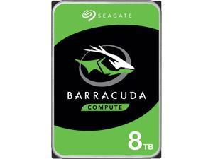 "Seagate BarraCuda ST8000DM004 8TB 5400 RPM 256MB Cache SATA 6.0Gb/s 3.5"" Internal Hard Drive Bare Drive - OEM"