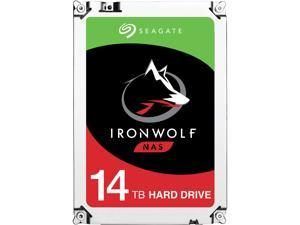 "Seagate IronWolf 14TB 7200 RPM 256MB Cache SATA 6.0Gb/s 3.5"" Internal Hard Drive ST14000VN0008"