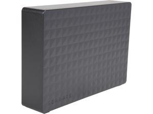 Seagate External Hard Drive 10TB HDD Expansion - PC Windows PS4 & Xbox - USB 2.0 & 3.0 Black (STEB10000400)