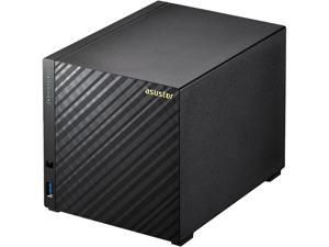 Asustor AS3204T, 4-Bay NAS (Diskless), Intel Celeron 1.6 GHz Quad-Core, 2GB RAM