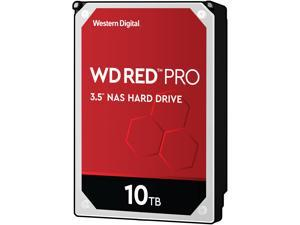 "WD Red Pro WD101KFBX 10TB 7200 RPM 256MB Cache SATA 6.0Gb/s 3.5"" Hard Drive Bare Drive"