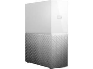 WD My Cloud Home 8TB USB 3.0 / Gigabit Ethernet Hard Drives - Desktop External WDBVXC0080HWT-NESN White