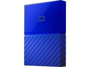WD 2TB My Passport Portable Hard Drive USB 3.0 Model WDBS4B0020BBL-WESN Blue