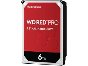 "WD Red Pro WD6003FFBX 6TB 7200 RPM 256MB Cache SATA 6.0Gb/s 3.5"" Internal Hard Drive"