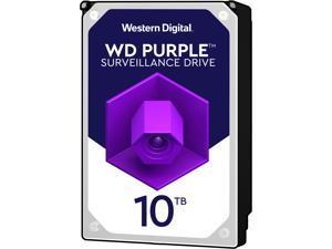 """WD Purple WD101PURZ 10TB 7200 RPM 256MB Cache SATA 6.0Gb/s 3.5"""" Internal Hard Drive"""