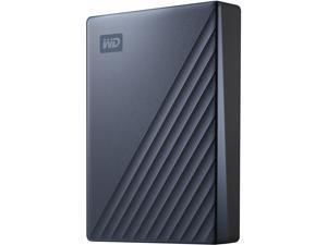 WD 4TB My Passport Ultra Portable Hard Drive USB-C (USB 3.0 compatible) Model WDBFTM0040BBL-WESN Blue