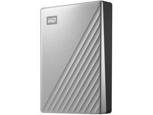 WD 4TB My Passport Ultra Portable Hard Drive USB 3.0 Model WDBFTM0040BSL-WESN Silver