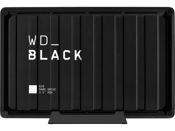 WD_BLACK 8TB D10 Game Drive, USB 3.2 Gen 1, WDBA3P0080HBK-NESN