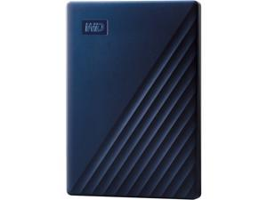WD 2TB My Passport for Mac Portable Storage USB 3.2 Gen 1 - Midnight Blue - WDBA2D0020BBL-WESN