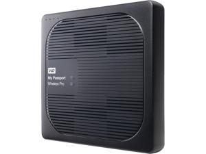 WD 3TB My Passport Wireless Pro Portable External Hard Drive - Wi-Fi AC, SD, USB 3.0 - WDBSMT0030BBK-NESN