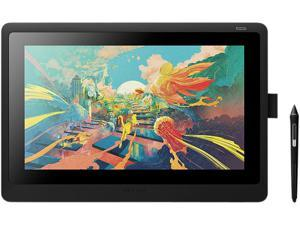 Wacom DTK1660K0A 13.6 x 7.6 inches Active Area Cintiq 16 Drawing Tablet with Screen