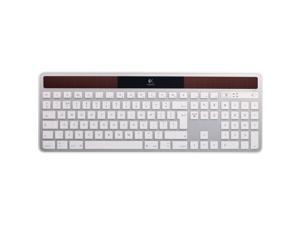 Logitech K750 2.4GHz Wireless Solar Powered Keyboard for Mac- White