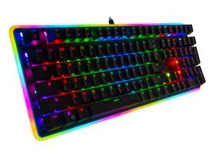 Rosewill Mechanical Gaming Keyboard, 22 RGB Backlit Modes, Blue Switches - NEON K81