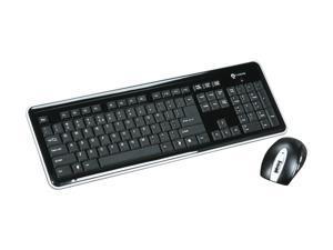 i-rocks RF-6577L-BK Black USB RF Wireless Slim Keyboard