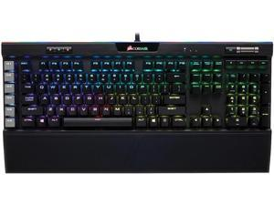 Corsair K95 RGB PLATINUM Mechanical Gaming Keyboard, Cherry MX Speed, Backlit RGB LED, Black