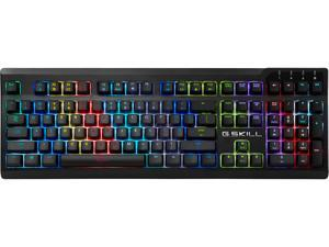 G.SKILL RIPJAWS KM570 RGB Mechanical Gaming Keyboard - Cherry MX RGB Speed Silver