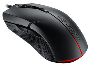 ASUS ROG Strix Evolve Aura RGB USB Wired Optical Ergonomic Ambidextrous Gaming Mouse