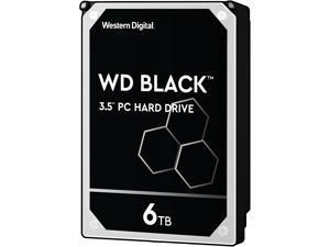 WD Black 6TB Performance Desktop Hard Disk Drive - 7200 RPM SATA 6Gb/s 256MB Cache 3.5 Inch - WD6003FZBX
