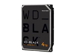 WD Black 4TB Performance Desktop Hard Disk Drive - 7200 RPM SATA 6Gb/s 256MB Cache 3.5 Inch - WD4005FZBX