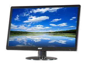 "Acer S0 Series S220HQL (ET.WS0HP.A01) Black 21.5"" 5ms Widescreen LED Backlight LCD Monitor"