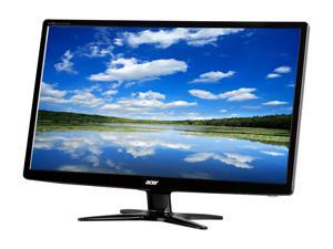"""Acer G6 Series G246HL Black 24"""" TN 5ms (GTG) 60 Hz Widescreen LED/LCD Monitor 1920 x 1080 FHD,Slim Profile Design, Acer eColor Technology, and Eco-Friendly"""