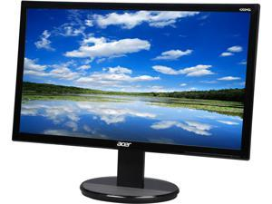 "Acer K2 Series K202HQL bd 19.5"" TN 5ms (GTG) Black Widescreen LED/LCD Monitor, Visual Comfortable w/ D-sub and DVI Connectivity"