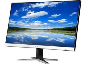 "Acer G7 Series G257HU Black/Silver 25"" WQHD 2560 x 1440 (2K) IPS 4ms (GTG) Black LED Backlight LCD Monitor, Slim Frame Design w/ Acer Flicker Less Technology, Visual Comfortable and Built-in Speakers"
