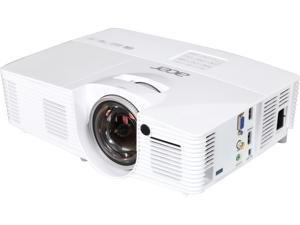"""Acer H6517ST Projector, 3000 Lumens, 10000:1 Contrast Ratio, 45"""" - 300"""" Image Size, HDMI, USB, VGA, Composite Video, Built-in Speaker"""