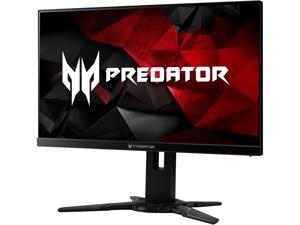 "Acer Predator XB2 XB252Q BMIPRZ 24.5"" 1920 x 1080 1ms (GTG) 240 Hz NVIDIA G-Sync Frameless Gaming Monitor, VESA Mountable, HDMI, DisplayPort, Built-in Speaker"