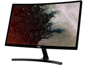 "Acer ED242QR Abidpx Black 24"" 144Hz AMD FreeSync VA Curved Widescreen LED backlight Monitor, HDMI, DisplayPort, Tilt"